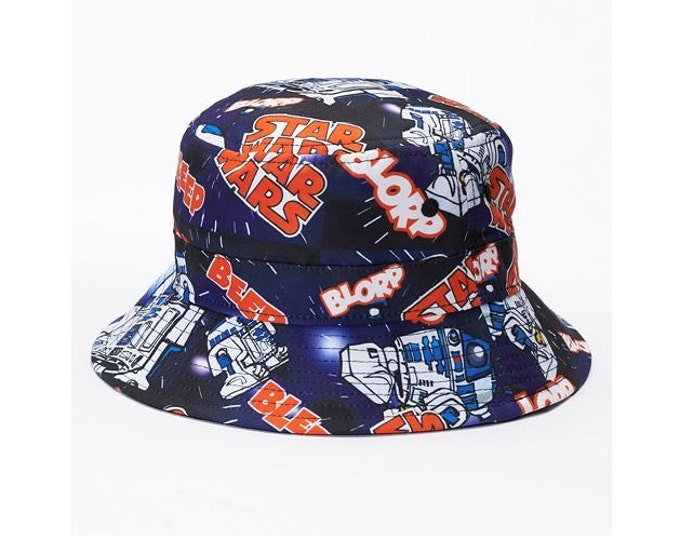 Star Wars R2D2 Character Print Bucket Hat – Boys –