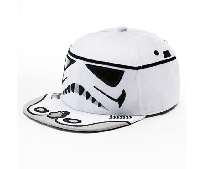 Star Wars Storm Trooper Baseball Hat Flatbill Cap – Boys