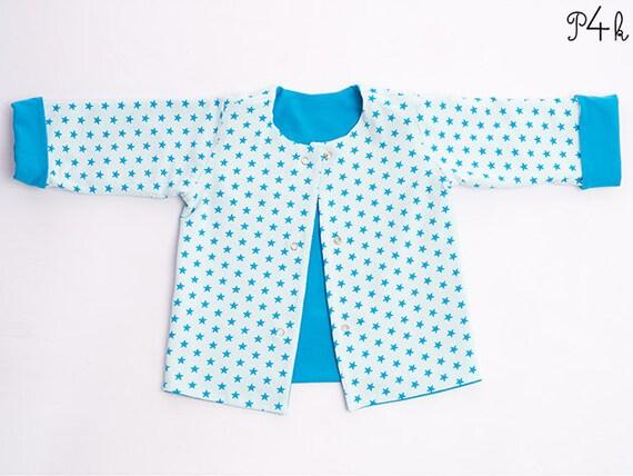 pattern4kids - Baby jacket sewing pattern, reversible, easy kids ...