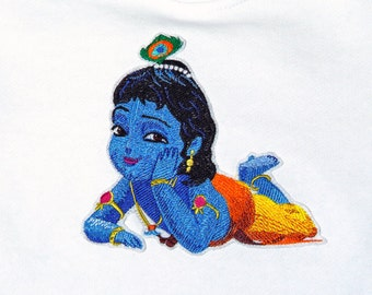 Little Krishna Embroidered Patch