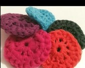 Scrubbies, set of four, handmade, crochet, kitchen, kitchen cleanser, pan scrubber, kitchen cleanup,