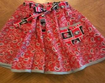 Georgia Bulldogs Game Day Twirly Skirt - size 5
