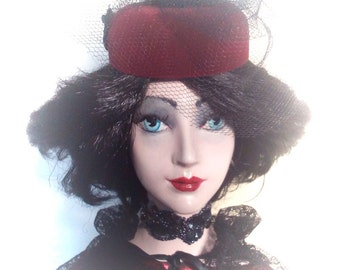 Porcelain doll  , Unique Doll  ,OOAK Handmade doll ,  Art doll,  Handmade doll  Margo