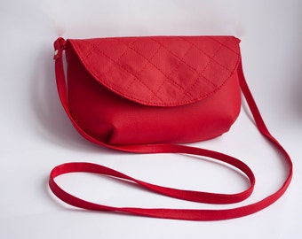 Crossbody bag, shoulder red bag, crossbody purse, red handbags, crossbody, small purse, women bag, crossbody bags, red handbag