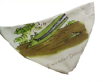 The Enormous Crocodile Bandana Bib