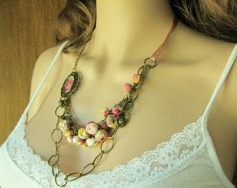 designer necklace Versailles handmade