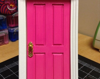 Tooth Fairy Door Loose Tooth Fairy Realm Fairy Dust Enchanted Hot Pink