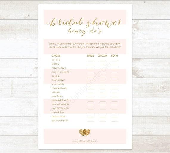 bridal shower to do list pdf