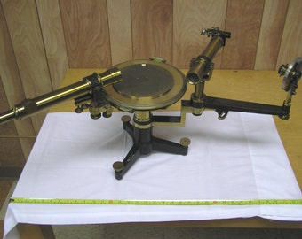 Giant Brass Spectroscope circa 1900-1915