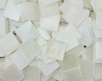 Resin mosaic tiles, 20x20 mm, La Concha effects, Capriz