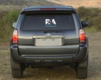 R4A Window Decal