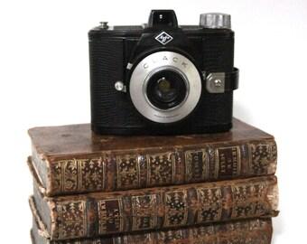 Agfa Clack, Room 6 x 9. analog camera. Camera for 120 film. 50 's/60 's