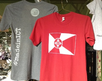 Wichita Flag Tee Shirts