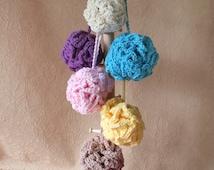 Luxury Cotton Shower Pouf