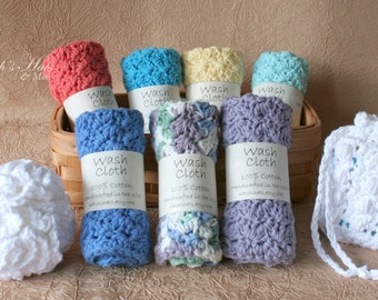 Handcrafted, Luxury Cotton Spa Cloths