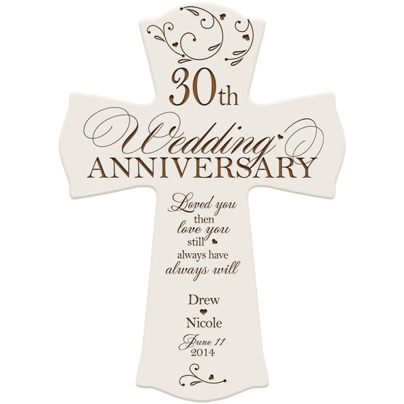 Gift Ideas For 30th Wedding Anniversary For Friends : 30th anniversary gift for him,30th wedding anniversary gift ...