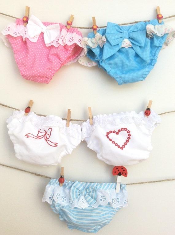 costumi da bagno per bambina taglia 18 mesi in cotone e sangallo