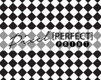 "4ft x 4ft ""Racing Checkers"" Vinyl Backdrop // Vinyl Backdrops // Vinyl Photography Backdrop // Black & White Painted Backdrops (PP356)"