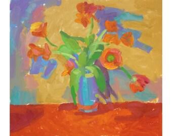 """Tulips  1 25""""x22"""""""