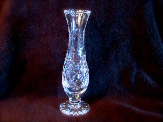 Heavy Crystal Vase Vintage Rogaska Lead Crystal Bud Vase