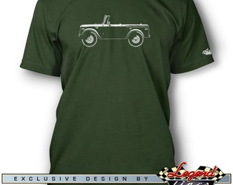 International Scout 1961 - 1980 T-Shirt for Men - Lights of Art - Multiple colors available - Size S - 3XL - Great American Classic Car Gift