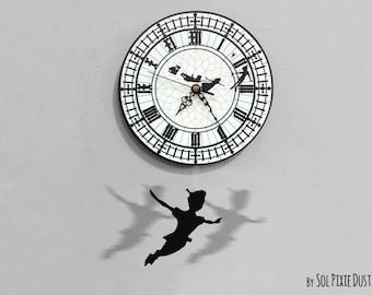 Peter Pan Swinging on the Big Ben - Pendulum Wall Clock