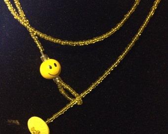Button Clasp Necklaces and Bracelets