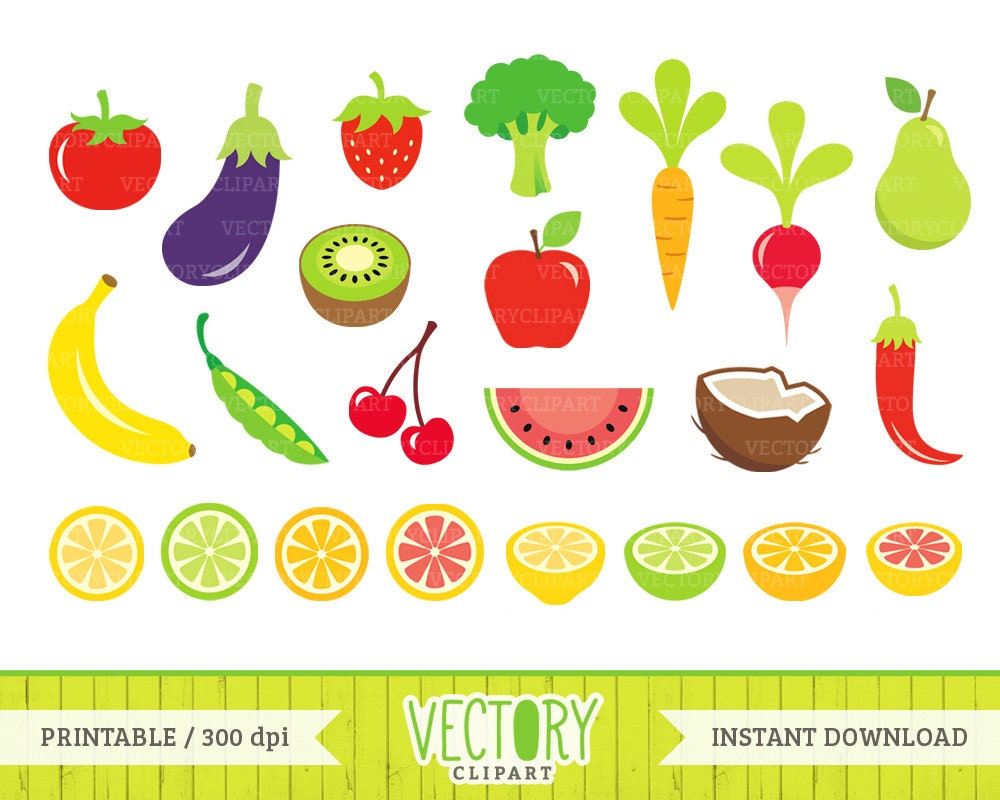 23 fruits and vegetables clip art  healthy food clipart healthy food clipart healthy foods clip art coloring page