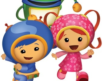 Team Umizoomi Wall Decal