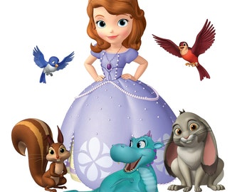 Sofia The First Removable Wall Decal