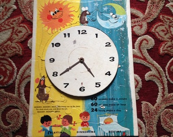 Vintage ( Tell Me The TIme) Puzzle Clock