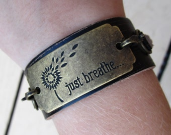 Just Breathe Bracelet