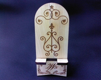 Cell Phone Stand - Monogram