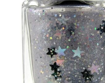 Stardust Nail Polish, Full Size, 15ml, Glitter Topper, Handmade Polish, 5 Free, Cruelty Free, Pinup Beauty