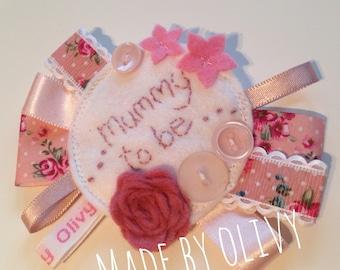 Mum to be rosette - baby shower gift idea