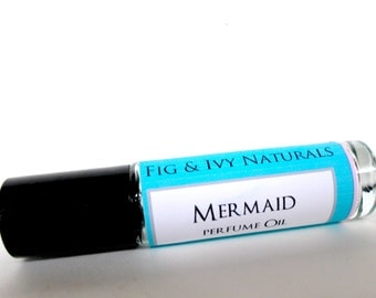Mermaid Perfume Oil   Womens Roll On Fragrance