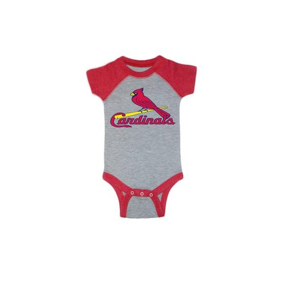 Custom st louis cardinals onesies t shirts with custom name for Custom t shirts st louis