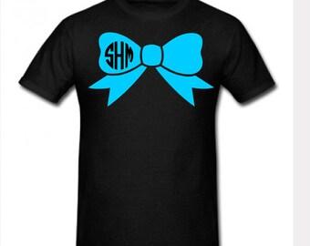 Monogram Bow Shirt