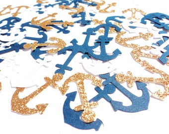 Nautical Glitter Confetti