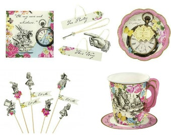 Gorgeous Alice in Wonderland Party Pack.