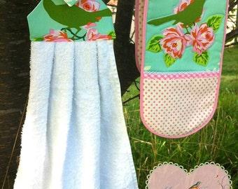 Granny Chic Kitchen Essentials Pack PDF Sewing Pattern.