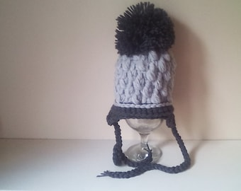 newborn boy hat, baby hat, baby boy hat, photo prop ,chunky hat, baby hat, crochet baby hat