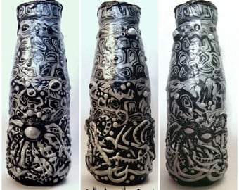 Vase Tentacles Cthulhu Monster Eye Mutation Gothic Horror Halloween Horror