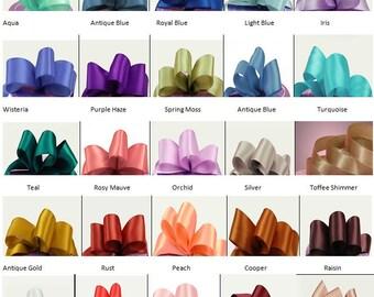 Metallic Ribbon Color Chart