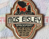 Star Wars - Mos Eisley Spaceport Embroidery Appliques / A81 Movie TV Patches