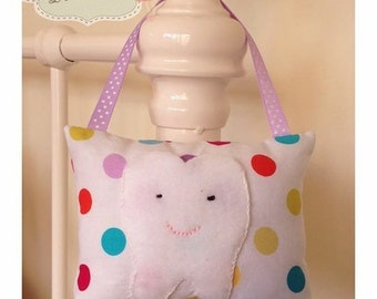Spotty Tooth Fairy Pillow