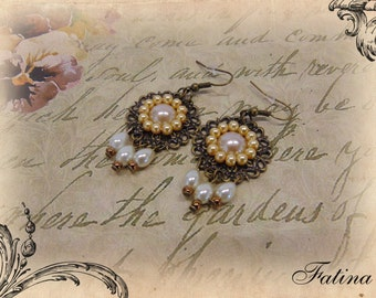 "Earrings ""Lady Isabell"""