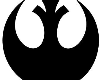 Star Wars- Rebel WIndow Cling