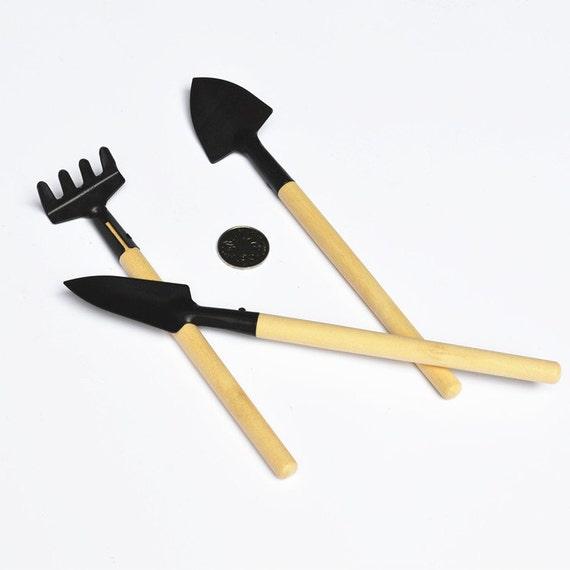 One set of small shovel rake the shovel mini garden tools for Small rake garden tools