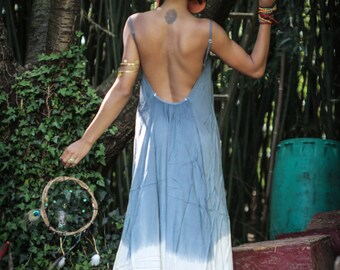 Long Dress Back Open
